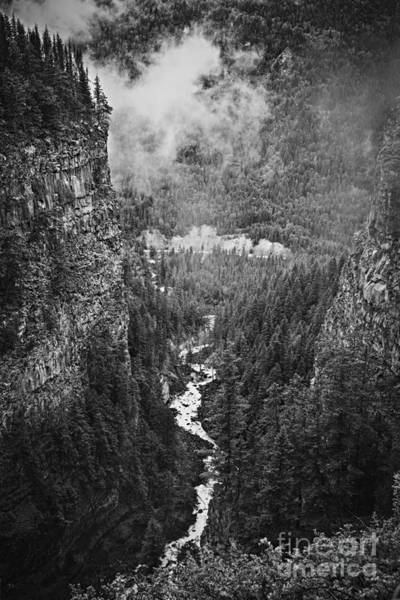 Photograph - Spahats Creek Canyon In Wells Gray Provincial Park by Elena Elisseeva