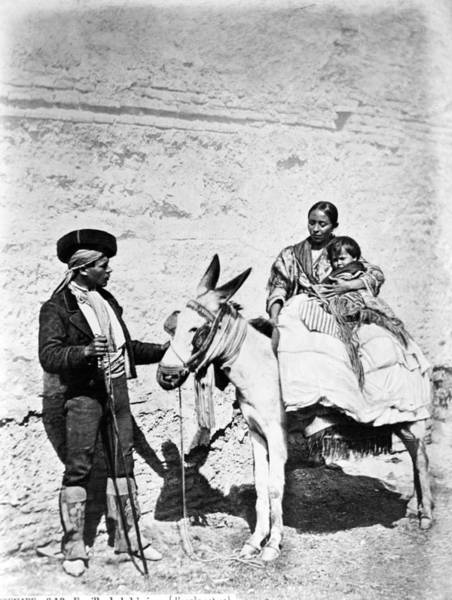 Photograph - Spain Gypsies, C1860-80 by Granger