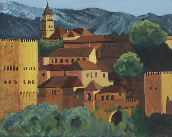 Painting - Spain by Jane Croteau