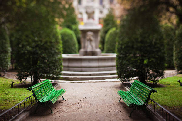 Arte Photograph - Spain, Madrid, Atocha Area, Centro De by Walter Bibikow