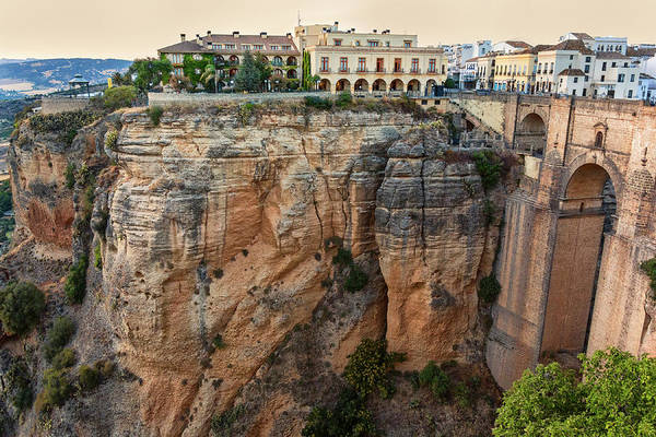 Ancient Architecture Photograph - Spain, Ronda by John Ford