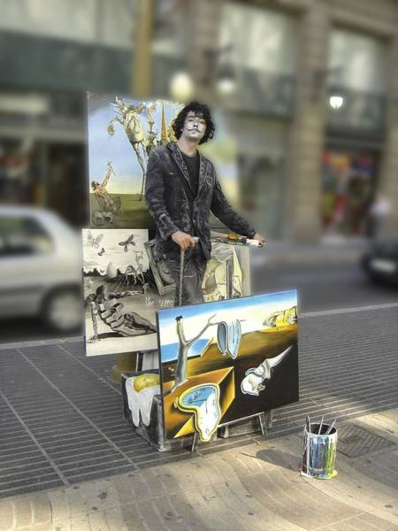 Photograph - Painter In Spain Series 23 by Carlos Diaz