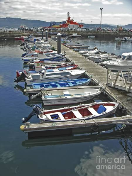 Photograph - Row Boats In Spain Series 27 by Carlos Diaz