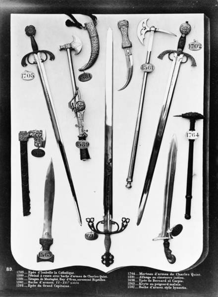 Wall Art - Photograph - Spain Weapons by Granger