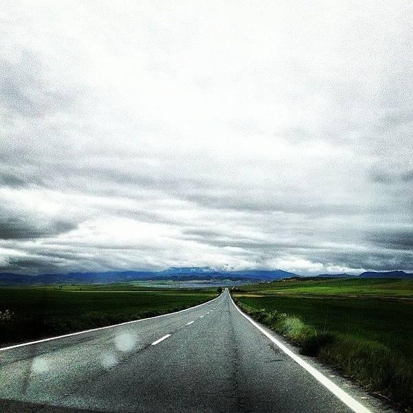 Jaguar Photograph - Spain! What A Road! What View! Jaguar by Rachit Hirani