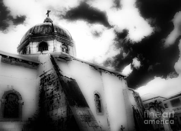 Photograph - Spanish Cathedral Philippines by Michael Arend