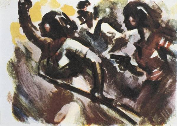Militiaman Photograph - Spanish Civil War 1936-1939. Campaign by Everett