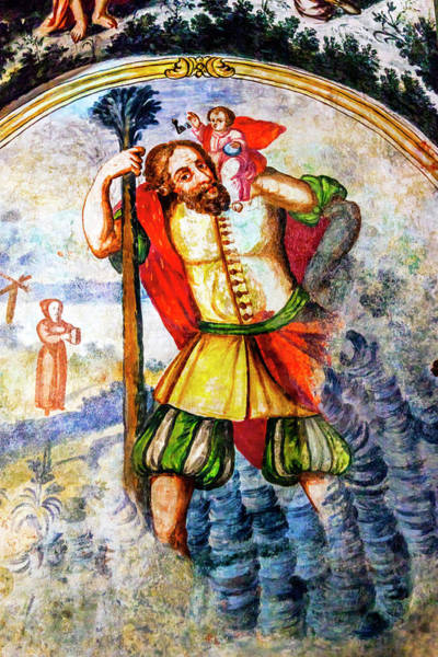 Atotonilco Photograph - Spanish Explorer Angel Fresco by William Perry