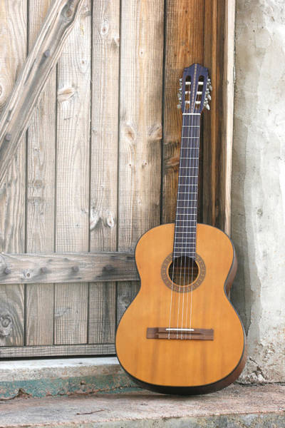 Photograph - Spanish Guitar by Keith May