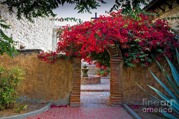 Photograph - Spanish Mission by Ronald Lutz