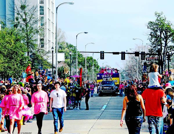 Photograph - Spanish Town Parade Baton Rouge Louisiana by Lizi Beard-Ward