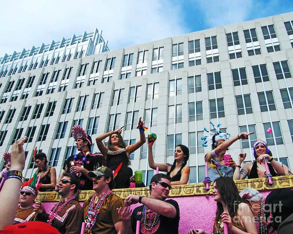 Photograph - Spanish Town Parade On North St by Lizi Beard-Ward