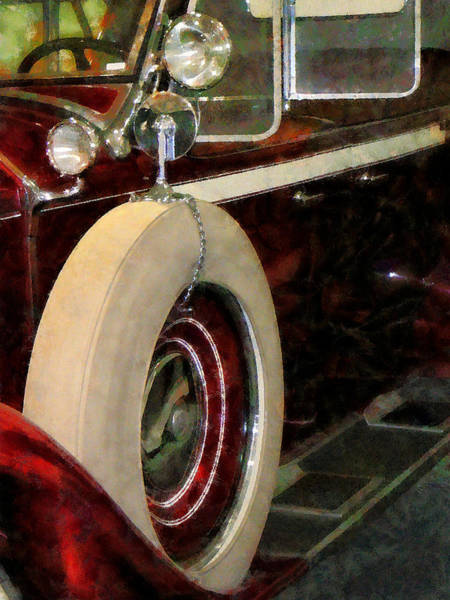 Photograph - Spare Tire by Susan Savad