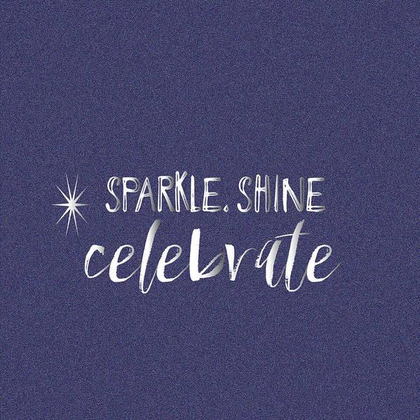 Wall Art - Painting - Sparkle Shine Celebrate by Pamela J.  Wingard