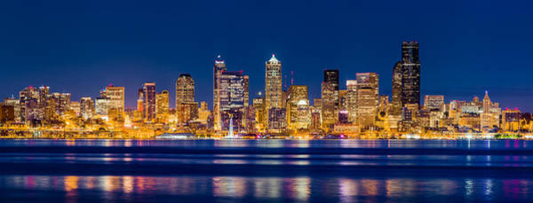 Photograph - Sparkling Seattle by Alexis Birkill