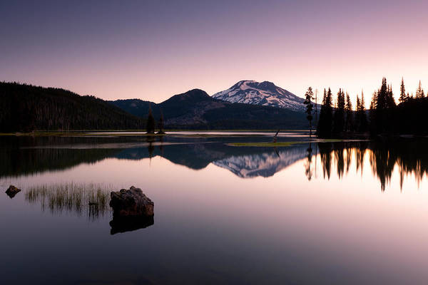 Photograph - Sparks Lake Sunrise by Andrew Kumler
