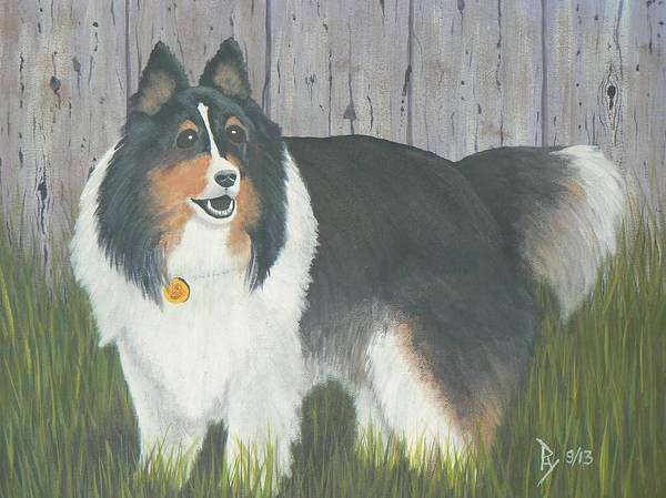 Painting - Sparky by Ray Nutaitis