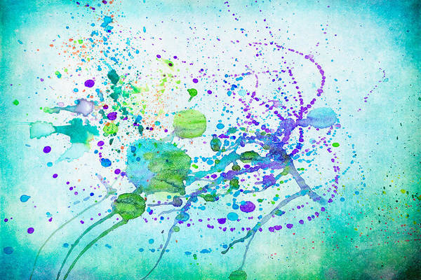 Digital Art - Spatter by Rick Wicker