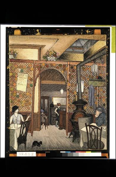 Central America Painting - Speakeasy by Glenn Coleman
