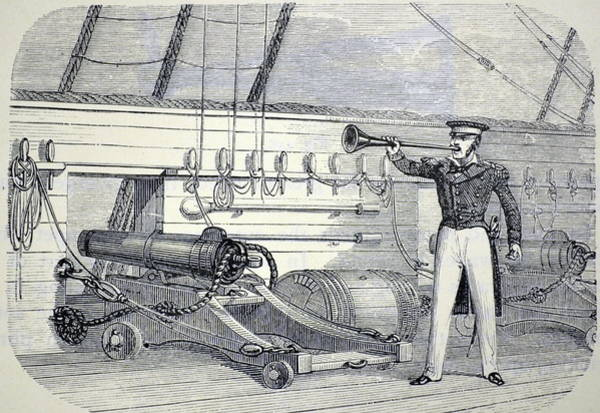 Physics Photograph - Speaking Trumpet by Universal History Archive/uig
