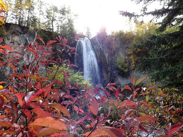 Spearfish Falls Art Print