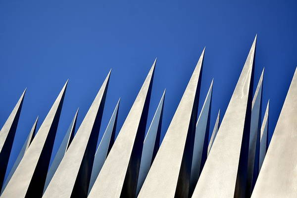 Spikes Photograph - Spears In The Sky by Christina Sill?n
