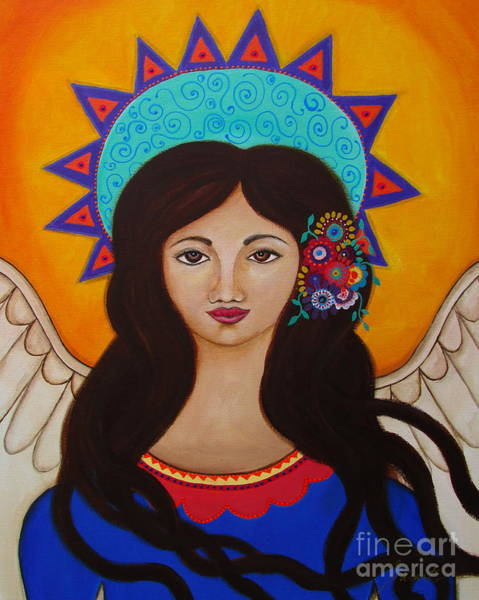 Painting - Special Angel Reese by Pristine Cartera Turkus