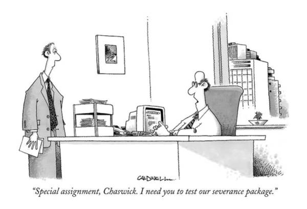 Employer Drawing - Special Assignment by John Caldwell