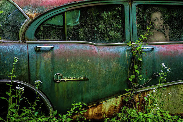 Old Car Wall Art - Photograph - Special Girl by Tony Mearman
