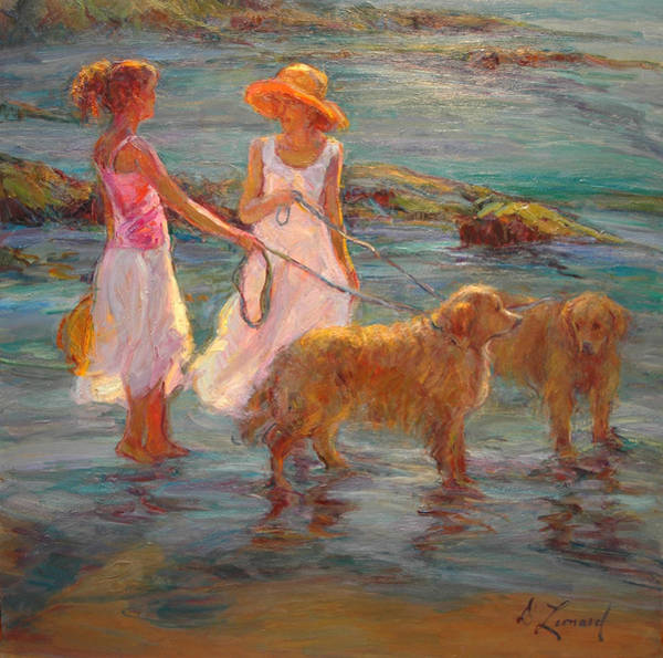 Wall Art - Painting - Special Times by Diane Leonard