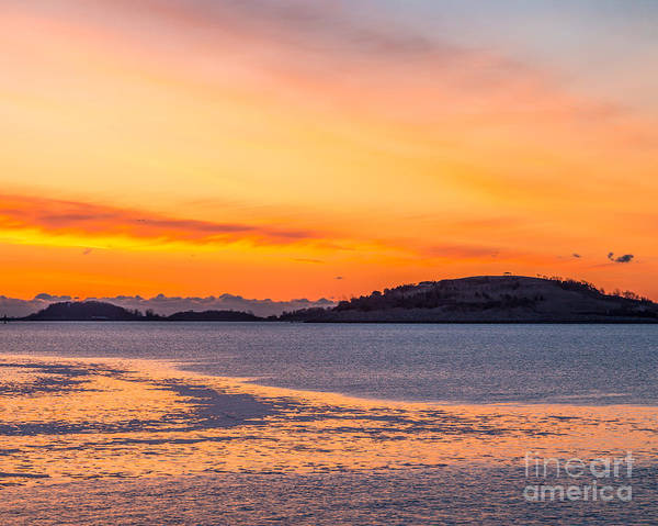 Photograph - Spectacle Island Sunrise by Susan Cole Kelly