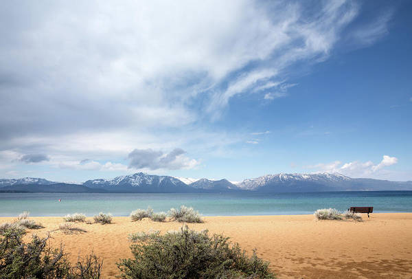 Lakeshore Photograph - Spectacular View Of Lake Tahoe by Zeiss4me