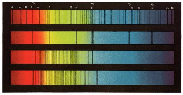 Wall Art - Photograph - Spectra Of The Sun And Stars by David Parker/science Photo Library