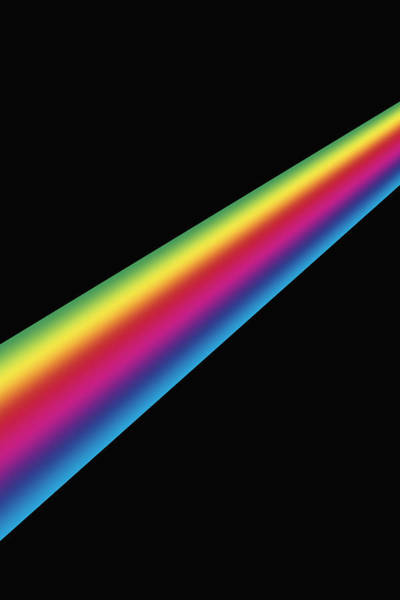 Photograph - Spectrum by Carol & Mike Werner, Visuals Unlimited /science Photo Library