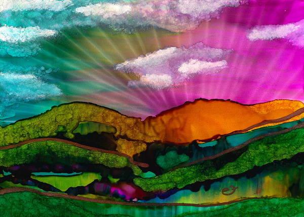 Painting - Spectrum Of Hope by Eli Tynan