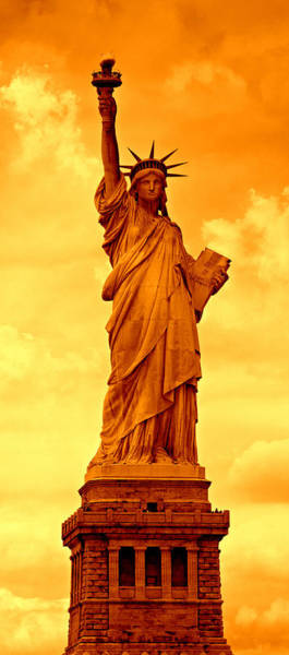 Statue Of Liberty National Monument Wall Art - Photograph - Spectrum Of Liberty No 2 by Stephen Stookey