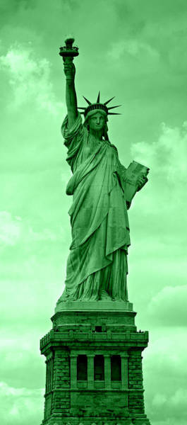 Statue Of Liberty National Monument Wall Art - Photograph - Spectrum Of Liberty No 4 by Stephen Stookey