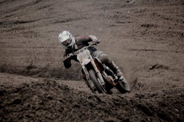 Dirtbike Photograph - Speed by Andrew Heald