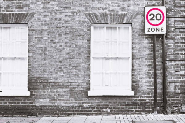 Restriction Photograph - Speed Limit by Tom Gowanlock