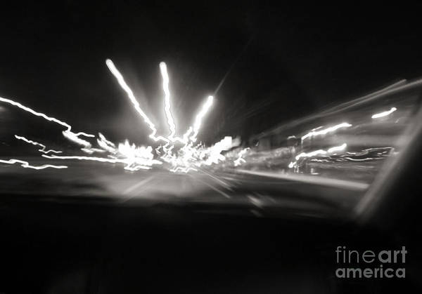 Photograph - Speed Of Light by Robyn King