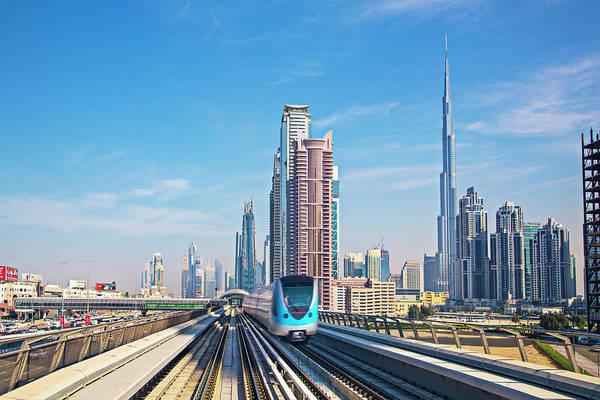 Passenger Car Photograph - Speed Transport At Dubai by Xavierarnau