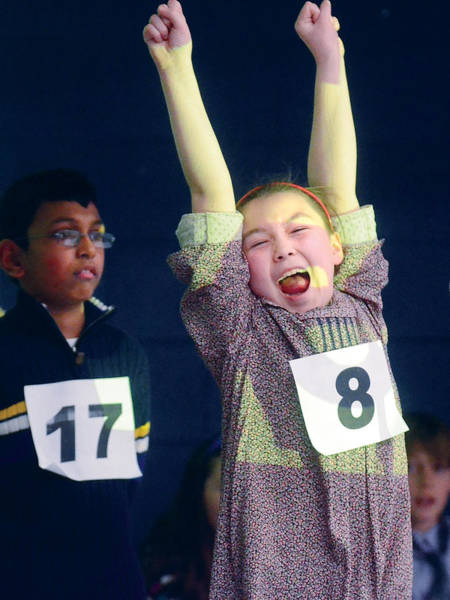 Photograph - Spelling Bee Champ by Steve Somerville