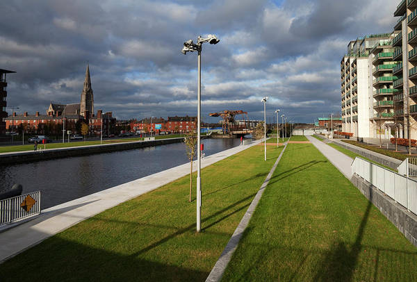 Financial Centre Photograph - Spencer Dock In The Regenerated by Panoramic Images