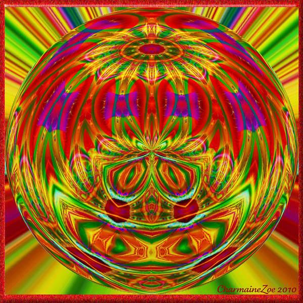 Digital Art - Spherical Art 10 by Charmaine Zoe