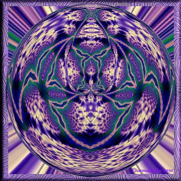 Digital Art - Spherical Art No 6 by Charmaine Zoe
