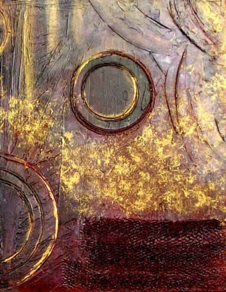 Arte Mixed Media - Spherical Romance Diptych Right by Holly Anderson
