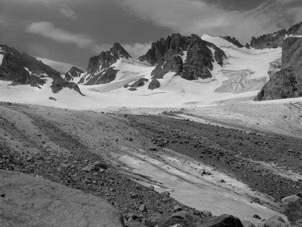 Photograph - 509429-bw-sphinx And Mt. Woodrow Wilson, Wind Rivers by Ed  Cooper Photography