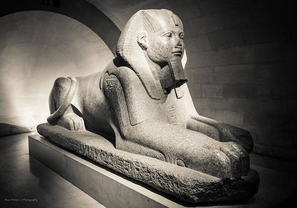 Photograph - Sphinx Of Tanis by Ross Henton