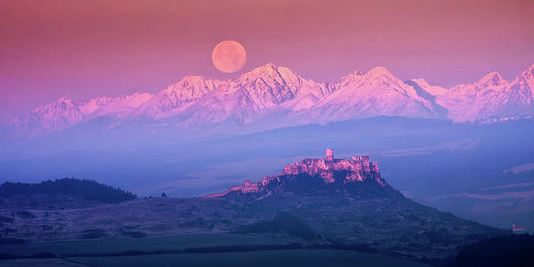Mountain Range Photograph - Spia? Fairy Tale by Marian Kmet