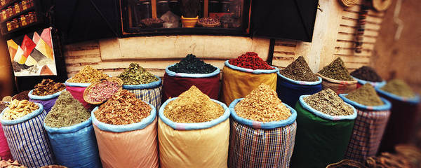 Wall Art - Photograph - Spice Market Inside The Medina by Panoramic Images